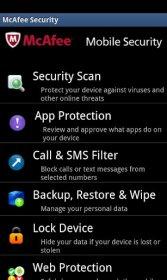 McAfee Mobile Security - надежная защита от кражи и вирусов