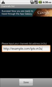 IPTV - IP-телевидение на Android-смартфоне