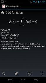 Formulae Pro - сборник формул с объяснением