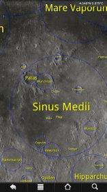 LunarMap HD - изображение рельефа Луны