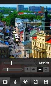 Tilt-Shift Maker - создание фотоснимков с эффектом размытости