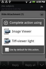 TIFF and FAX viewer - открытие файлов TIFF формата