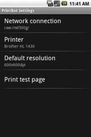 PrintBot - приложение для распечатывания через Wi-Fi