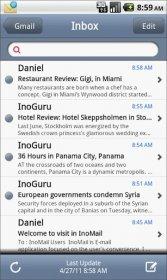InoMail - красиво оформленный почтовый клиент