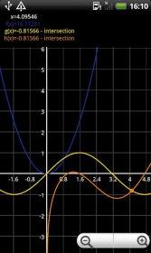 Algeo graphing calculator - функциональный калькулятор с построением графиков