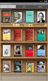 eReader Prestigio - приложенние для чтения книг