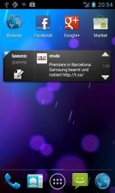 Phoenix Launcher - домашний экран от ICS