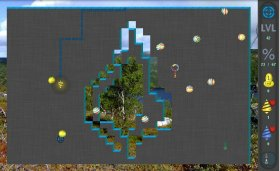 Xonix Blast - ремейк популярной игры