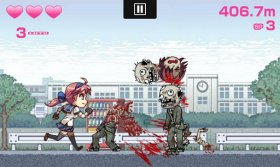 Ama-Hina - зомби апокалипсис в стиле аниме