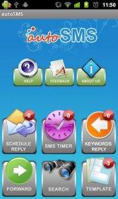 autoSMS Full - автоматическая ответ во время входящих sms и звонках