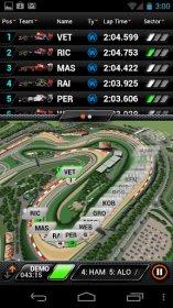 F1 2012 Timing App - информация о гонке у вас на дисплее