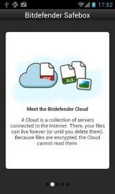 Bitdefender Safebox - двух гигабайтовым пространство для данных