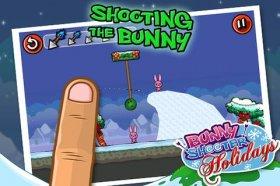Bunny Shooter Christmas - мочилово розовых кроликов
