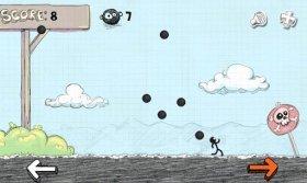 Crazy Survival - уворачиваемся от падающих ядер