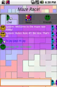 Maze Race - гонки мячиков