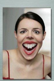 FaceGoo - растяжение контуров лица