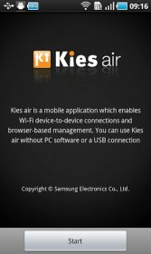Kies air - содержание Android-девайса на ПК