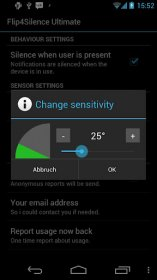 Flip4Silence Ultimate - переход в бесшумный режим переворачиванием смартфона