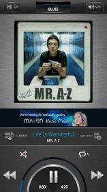 MAVEN Music Player - маленький и аккуратный музыкальный плеер