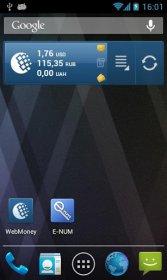 WebMoney Keeper Mobile - управление средствами на кошельке